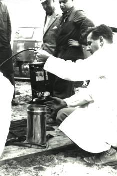 Historische Aufnahme von 1957