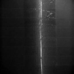 Hochgeschwindigkeits.Aufnahnme der Unterwasser-Detonation einer Sprengschnur in der Filterstrecke | ©Foto: pigadi GmbH