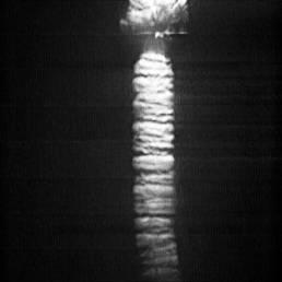 Hochgeschwindigkeits.Aufnahnme der Unterwasser-Detonation einer Sprengschnur: Gasblasensäule–Expansionsphase | ©Foto: pigadi GmbH