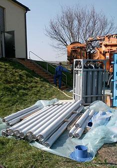Neue Wickeldrahtfilter zur Brunnensanierung